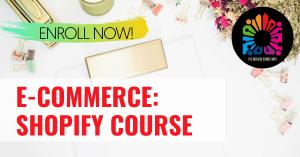 E-Commerce: Shopify Course