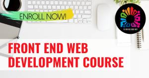 Front End Web Development Course